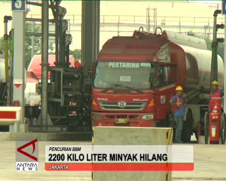 2200 Kilo Liter Minyak Hilang